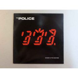 THE POLICE - GHOST IN THE MACHINE PLAK