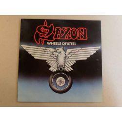 SAXON - WHEELS OF STEEL PLAK