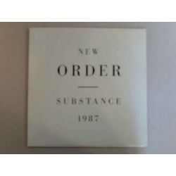 NEW ORDER - SUBSTANCE 1987 PLAK