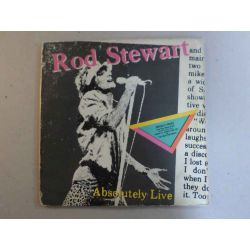 ROD STEWART - ABSOLUTELY LIVE PLAK