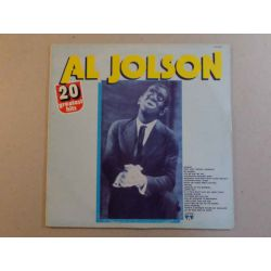 AL JOLSON - 20 GREATEST HITS PLAK