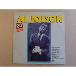 AL JOLSON - 20 GREATEST HITS PLAK