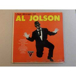 AL JOLSON - THE SONGS OF AL JOLSON PLAK