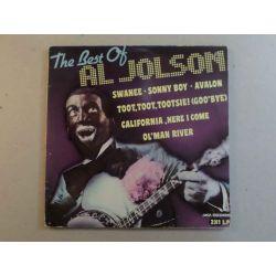 AL JOLSON - THE BEST OF AL JOLSON PLAK