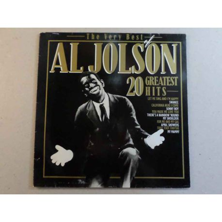 AL JOLSON - THE VERY BEST OF AL JOLSON PLAK