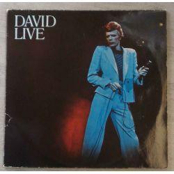 DAVID BOWIE - DAVID LIVE PLAK