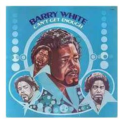 BARRY WHITE - CAN'T GET ENOUGH PLAK