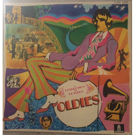 A COLLECTION OF BEATLES - OLDIES BUT GOLDIES PLAK
