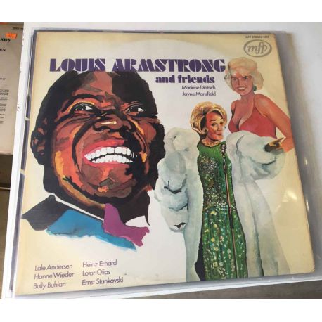LOUIS ARMSTRONG AND FRIENDS PLAK