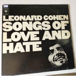 LEONARD COHEN - SONGS OF LOVE AND HATE PLAK