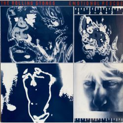 THE ROLLING STONES - EMOTIONAL RESCUE PLAK