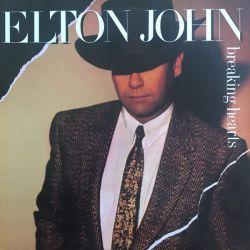 ELTON JOHN - BREAKING HEARTS PLAK