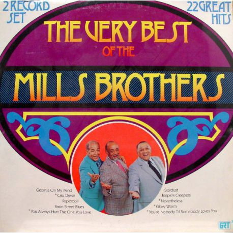 THE VERY BEST OF THE MILLS BROTHERS PLAK