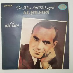 AL JOLSON - THE MAN AND THE LEGEND 20 GREAT TRACKS PLAK