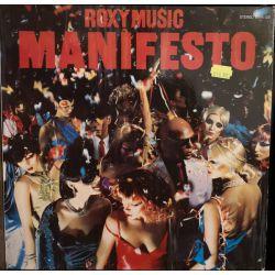ROXY MUSIC - MANIFESTO PLAK